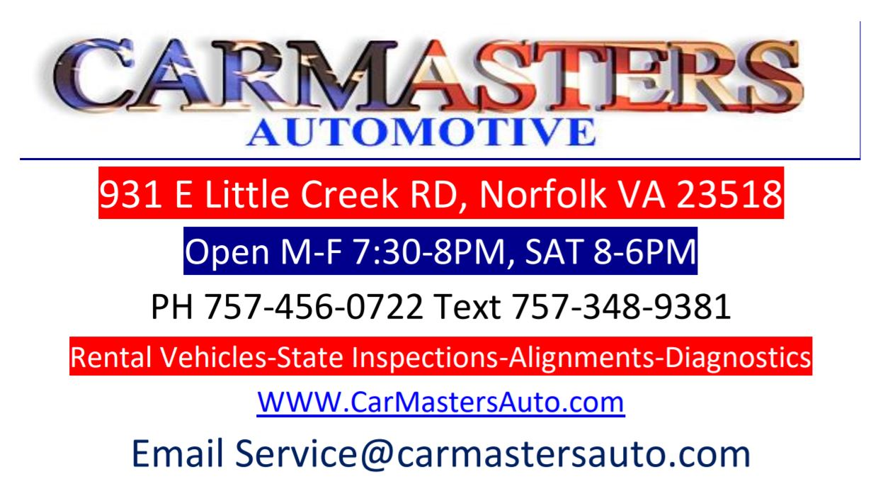 Carmasters Automotive HRKC 2018 Race Day Sponsor